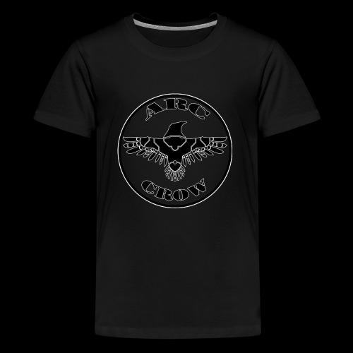 ARC CROW Logo in a circle - Kids' Premium T-Shirt