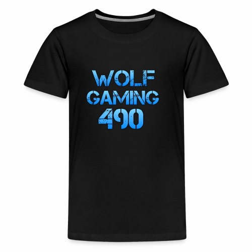 Wolfgaming490 Logo - Kids' Premium T-Shirt