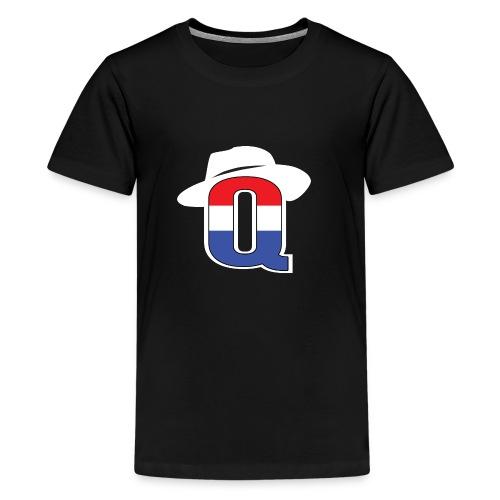 QbredWB - Kids' Premium T-Shirt