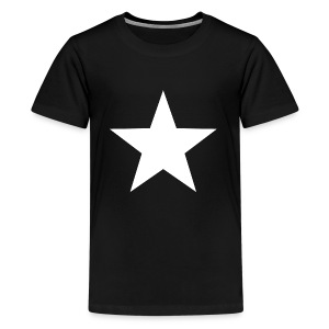 WHITE STAR 001 - Kids' Premium T-Shirt