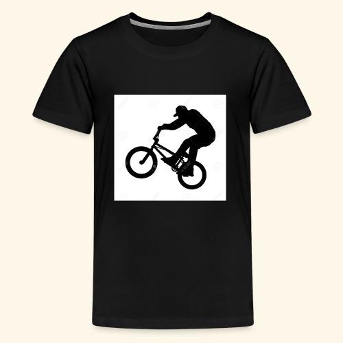 Rider silhouette - Kids' Premium T-Shirt