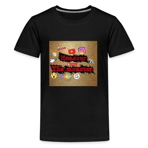 Mansour the monster - Kids' Premium T-Shirt