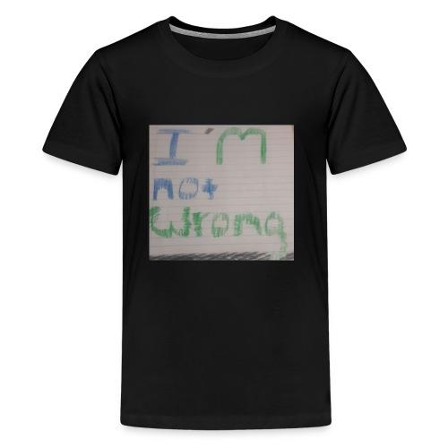 Not wrong - Kids' Premium T-Shirt