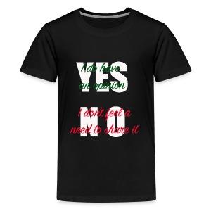 yesno - Kids' Premium T-Shirt