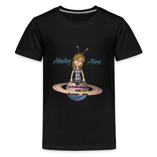 Adapting Alien 200 subscribers Limited time - Kids' Premium T-Shirt