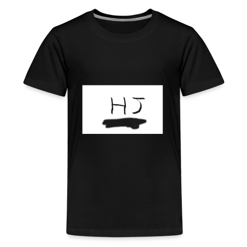 HJ small letter merch - Kids' Premium T-Shirt