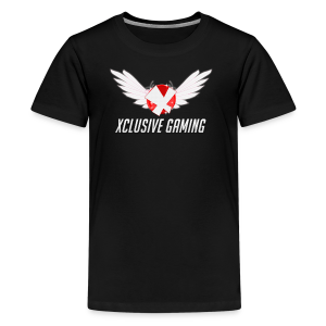 Xclusive gaming oversized logo - Kids' Premium T-Shirt