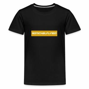 SonicHalfling0 Gold Supreme Style - Kids' Premium T-Shirt