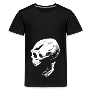 Screaming Skull - Kids' Premium T-Shirt