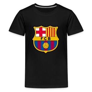1010px FC Barcelona crest svg - Kids' Premium T-Shirt