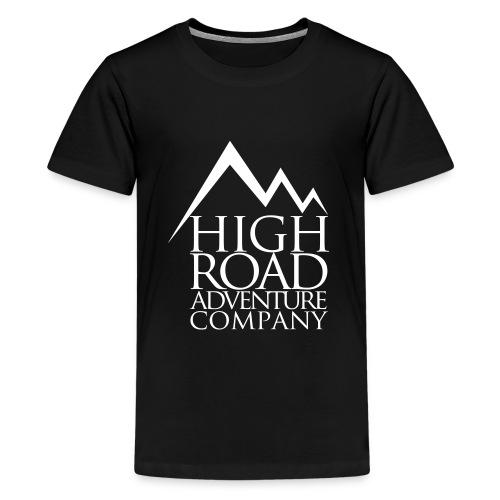 High Road Adventure Company Logo - Kids' Premium T-Shirt