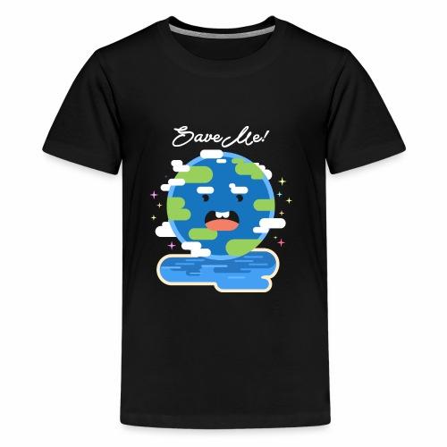 save earth - Kids' Premium T-Shirt