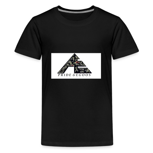 Abstract art hat logo - Kids' Premium T-Shirt