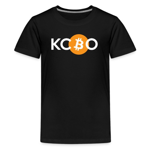 kcbo logo dark - Kids' Premium T-Shirt