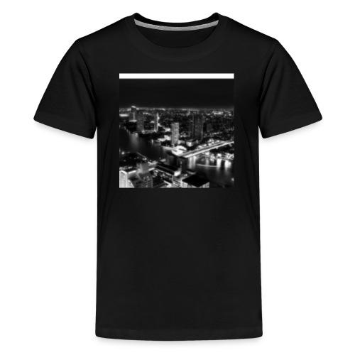 Black Out City - Kids' Premium T-Shirt