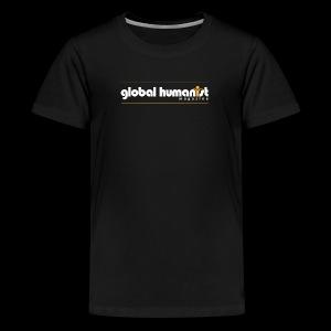 Global Humanist Long Form Logo - Kids' Premium T-Shirt