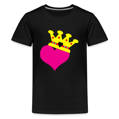 Lil Diamond's Fit for a Queen merch - Kids' Premium T-Shirt