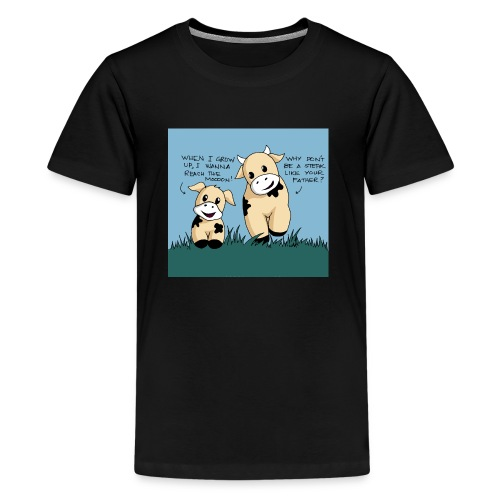 cow tales - Kids' Premium T-Shirt