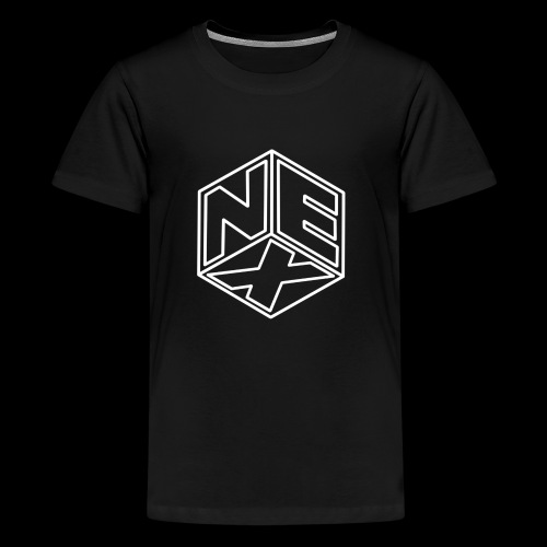 Nexagonal Logo (White) - Kids' Premium T-Shirt