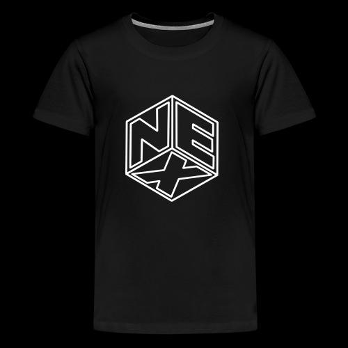 Nexagonal Logo (White) - Kids' Premium T-Shirt