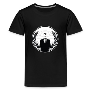 Anonymous Logo - Kids' Premium T-Shirt