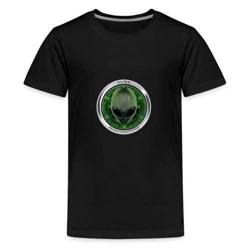New Alien Investigations Head Logo - Kids' Premium T-Shirt