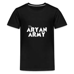 The ARYAN ARMY - Kids' Premium T-Shirt