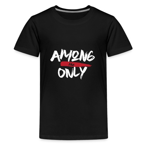 Among the Only White logo - Kids' Premium T-Shirt