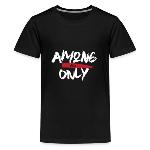 Among the Only White logo - Kids' Premium T-Shirt