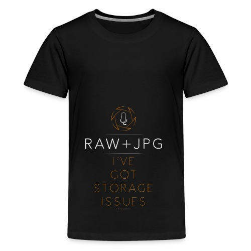 For the RAW+JPG Shooter - Kids' Premium T-Shirt