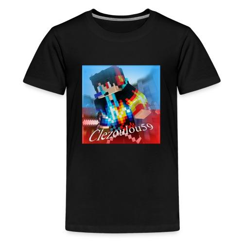 Logo Clezoulou59 2016-2017 - Kids' Premium T-Shirt