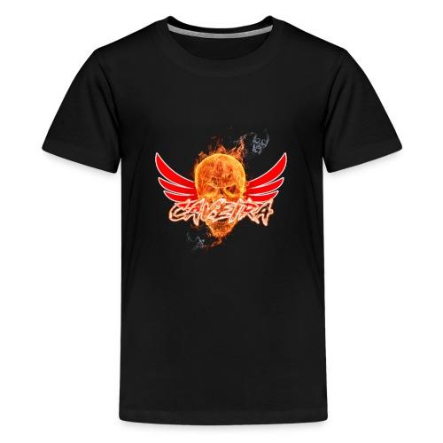 Camisa do canal CAVEIRA - Kids' Premium T-Shirt