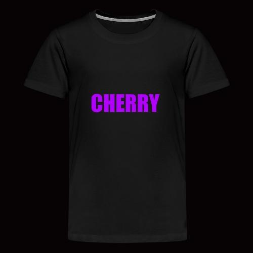 Cherry (Original Text Logo) Merch - Kids' Premium T-Shirt