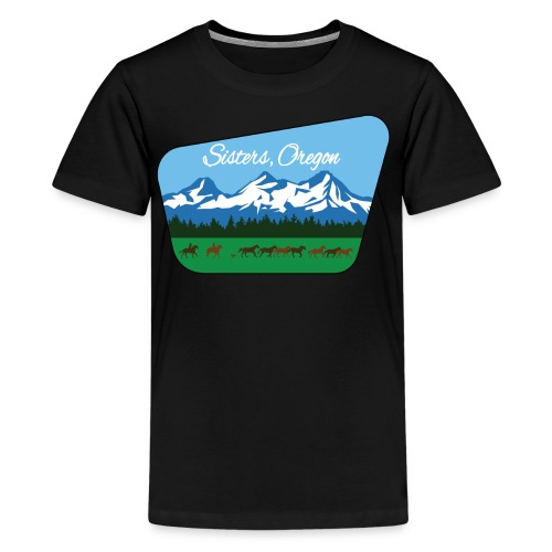 Sisters Oregon - Kids' Premium T-Shirt