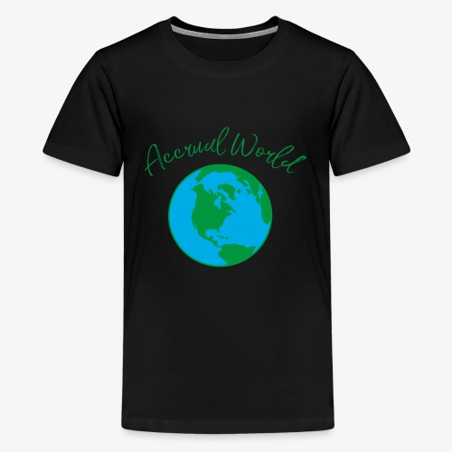 Accounting is Accrual World Audit Pun Accounting - Kids' Premium T-Shirt