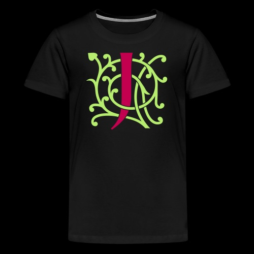 DIY FlexColor™ Monogram J • A4-2 – 2 Colors - Kids' Premium T-Shirt