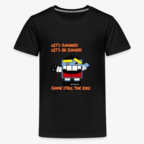 Gamer is gaming to win - Kids' Premium T-Shirt