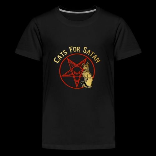 Cats For Satan by BelDisegno of Italy - Kids' Premium T-Shirt