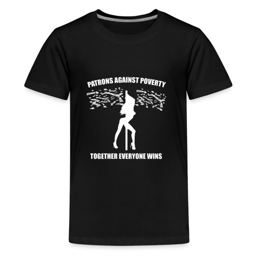 Patrons against poverty - Kids' Premium T-Shirt