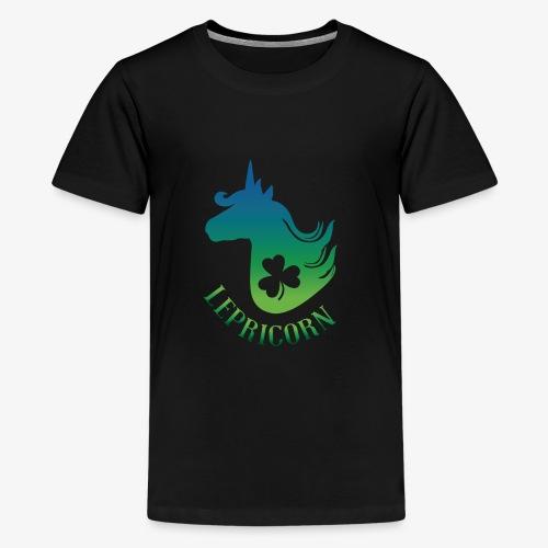 Unicorn Leprechaun St Patricks day - Kids' Premium T-Shirt