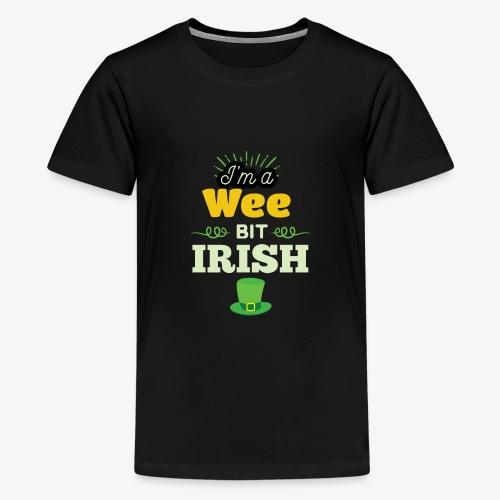 Funny Leprechaun Happy St Patricks Day - Kids' Premium T-Shirt