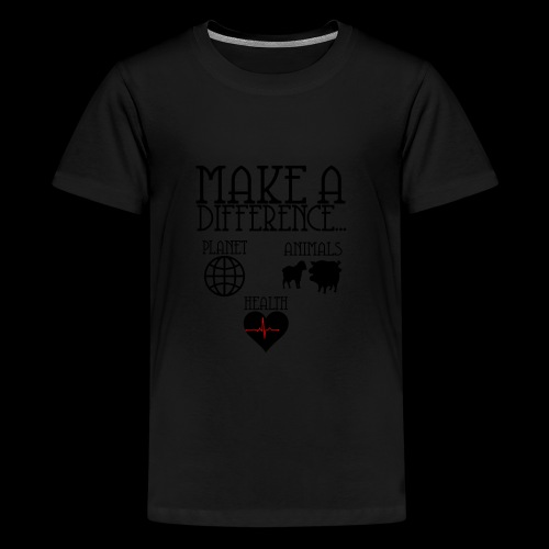 Make a difference - Kids' Premium T-Shirt