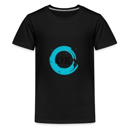 OK Design Tshirt for men's & womans - Kids' Premium T-Shirt
