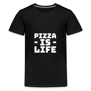 Pizza is life - Kids' Premium T-Shirt