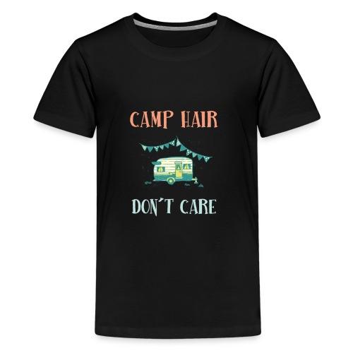 camp hair dont care tshirt - Kids' Premium T-Shirt