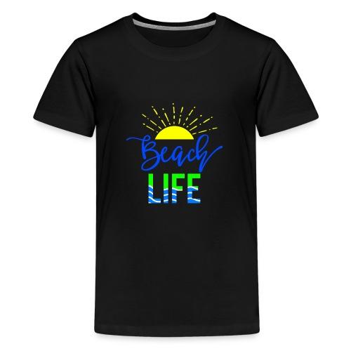 beach life shirt - Kids' Premium T-Shirt