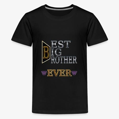 BEST Brother Shirt Big brother - Kids' Premium T-Shirt