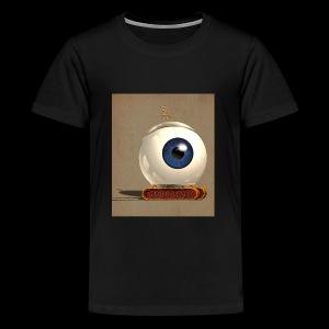 small Big eye robot - Kids' Premium T-Shirt