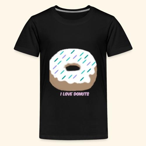 I Love Donuts - Kids' Premium T-Shirt