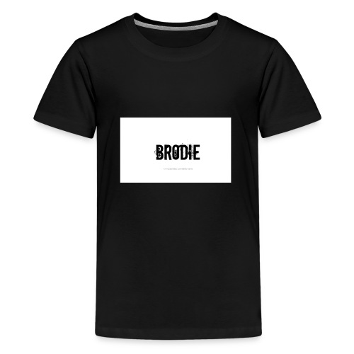 tattoo design name brodie 06 - Kids' Premium T-Shirt